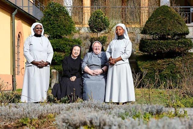 Gastschwestern aus Korea, Burundi und Indien leben im Kloster St.Lioba