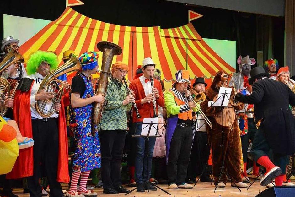 Musik, Tanz, Sketche und manch Lokalkolorit - die Narren boten ein abwechslungsreiches Programm. (Foto: Gabriele Hennicke)