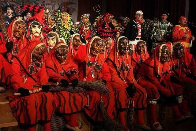 Fotos: Brauchtumsabend der Höllenzunft Kirchzarten