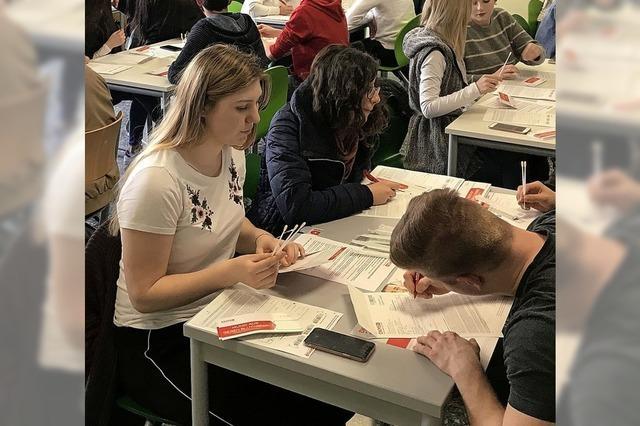 200 Waldshuter Schüler wollen Spender sein