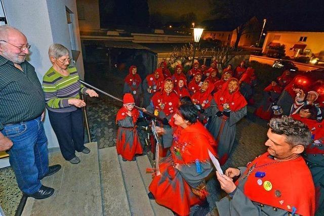 Die Munzinger-Gigili-Geister kommen auch zum Hausbesuch