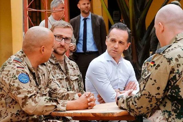 Streit um Verlängerung des Bundeswehreinsatzes in Mali