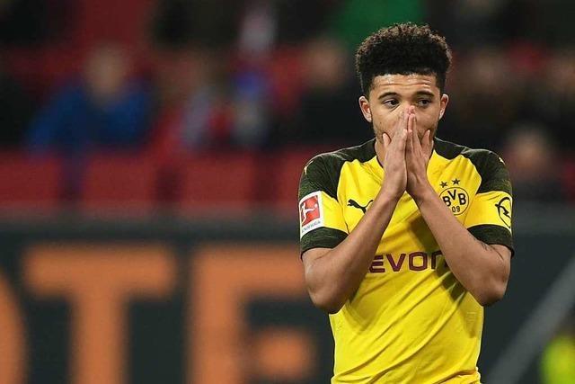 Dortmund geht die Luft aus: Niederlage beim FC Augsburg