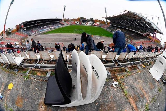 In Karlsruhe gibt es Streit wegen des neuen Stadions
