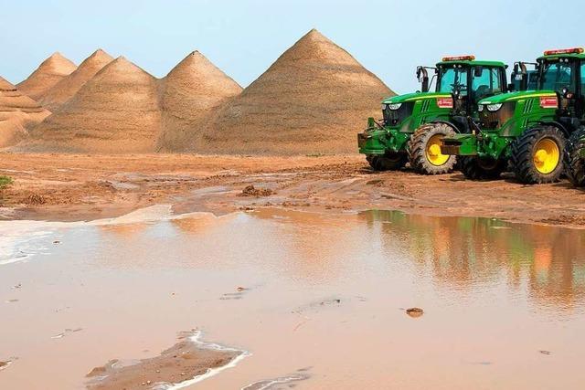 Warum Sand als Rohstoff bald knapp werden könnte