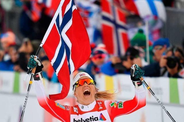 Langläuferin Johaug holt auch Gold über 30 Kilometer