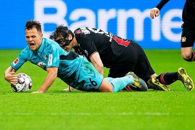 Harmlose Freiburger lassen beim 0:2 in Leverkusen Vieles missen