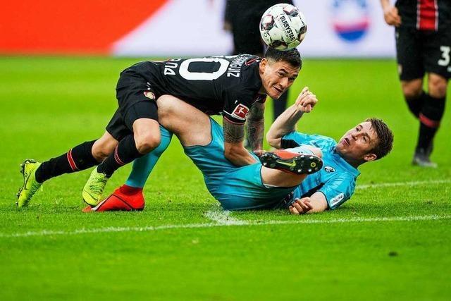 SC Freiburg steht gegen Bayer Leverkusen auf verlorenem Posten