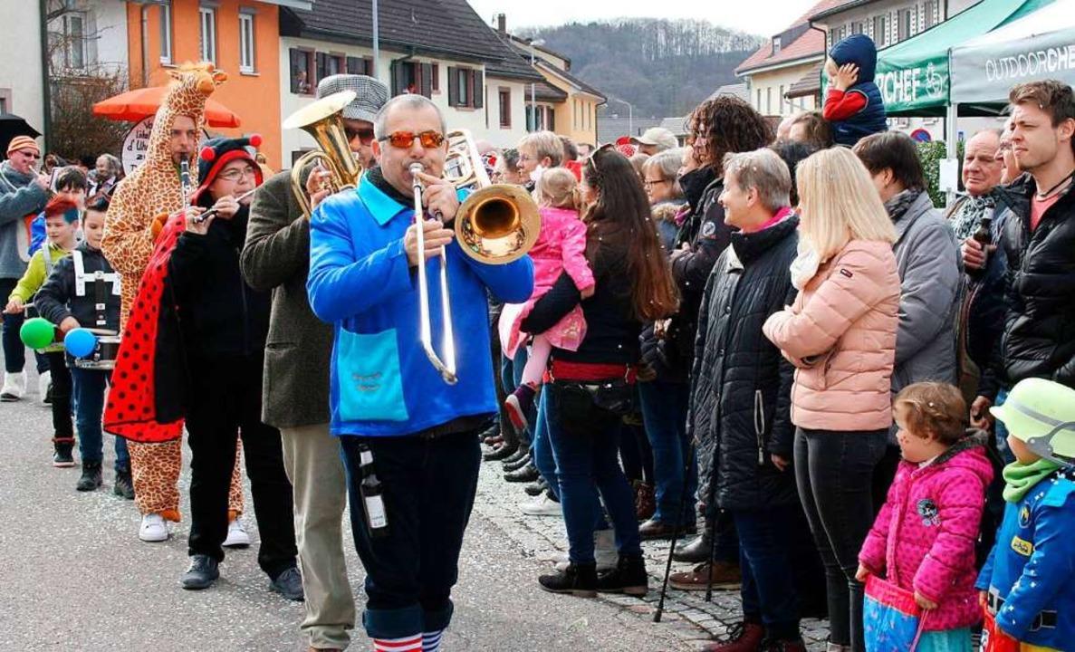 Gute Stimmung bei bestem Wetter beim F...renzunft Steinen-Höllstein am Sonntag.  | Foto: Lacher