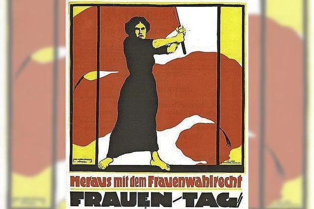 Aktionen zu 100 Jahre Frauenwahlrecht in Deutschland