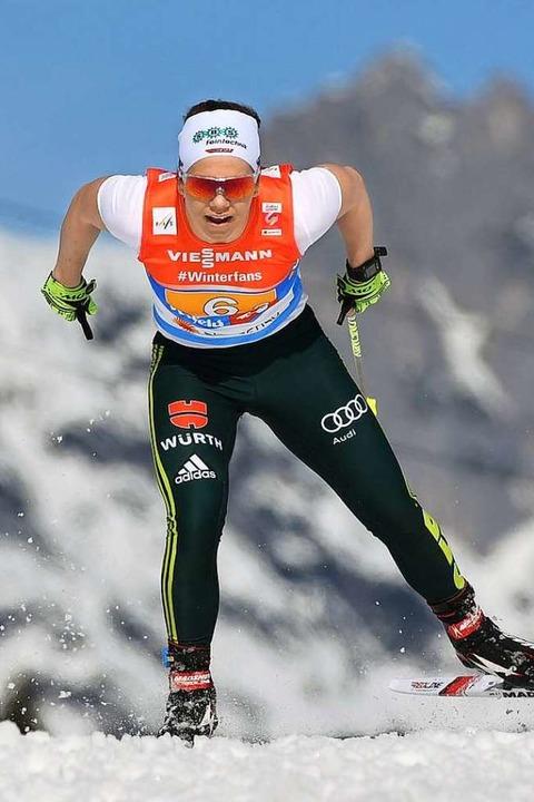Die Schwarzwälder Skilangläuferin Sandra Ringwald  | Foto: dpa