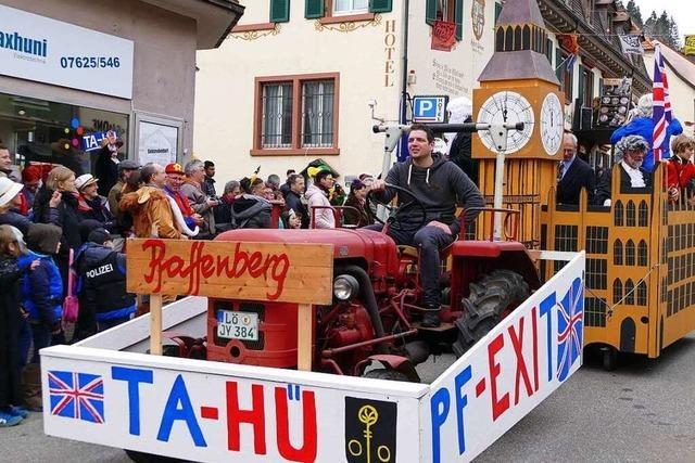 Fotos: Imposante Wagen beim Zeller Fasnachtsumzug