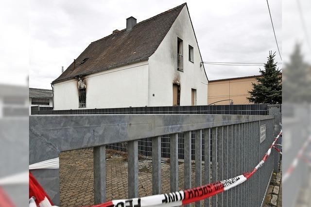 Fünf Tote bei Hausbrand