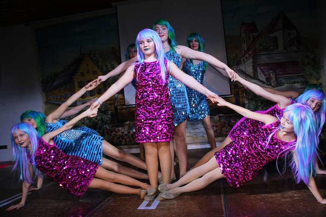 Das Kleine Ballett der Krutstorze-Zunft  | Foto: Mario Schöneberg