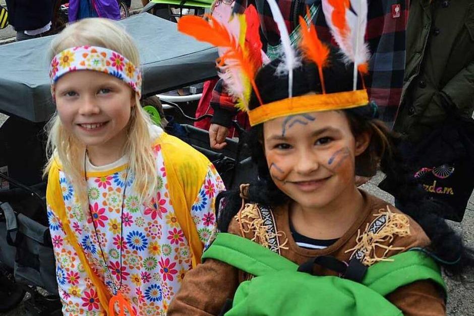 Am Rosenmontag regierten in Schopfheim und Fahrnau die kleinen Narren bei der Kinderfasnacht (Foto: Steinfelder)
