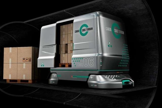 Ein Basler Unternehmen will Gütertransporte unter die Erde verlegen