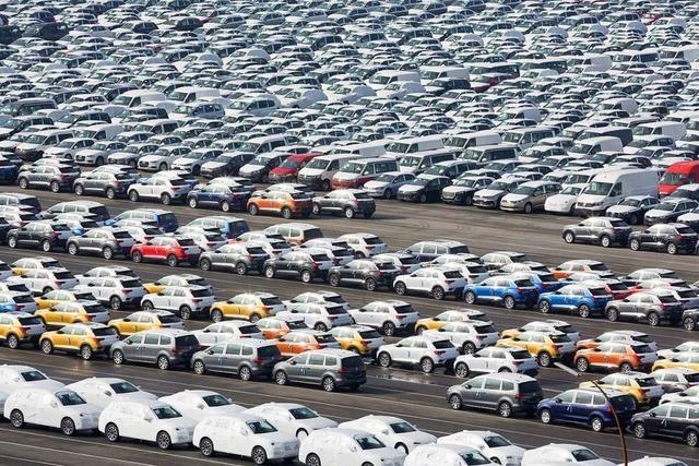 Weniger Autos aus deutschen Werken – bei stabiler Beschäftigung