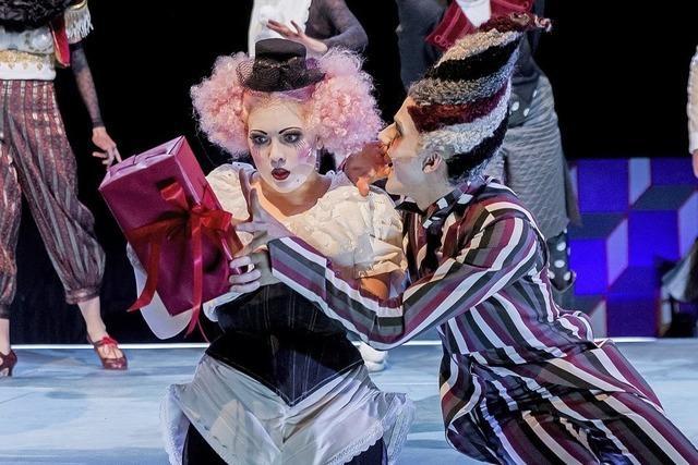 Generalprobe von der Junk Opera