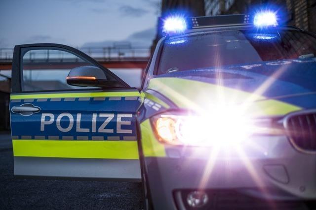 Chaosfahrt in Rheinfelden unter Alkohol- und Drogeneinfluss