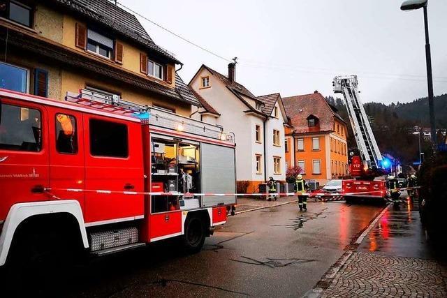 Feuerwehreinsätze in Waldkirch wegen Sturmschäden