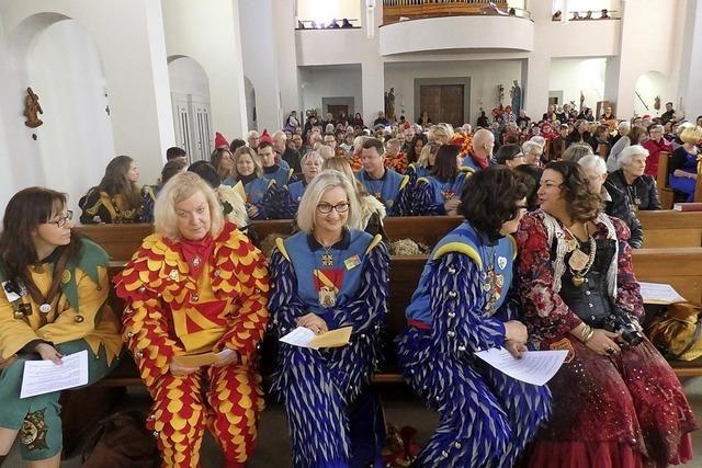 Eine Kirche voller Narren