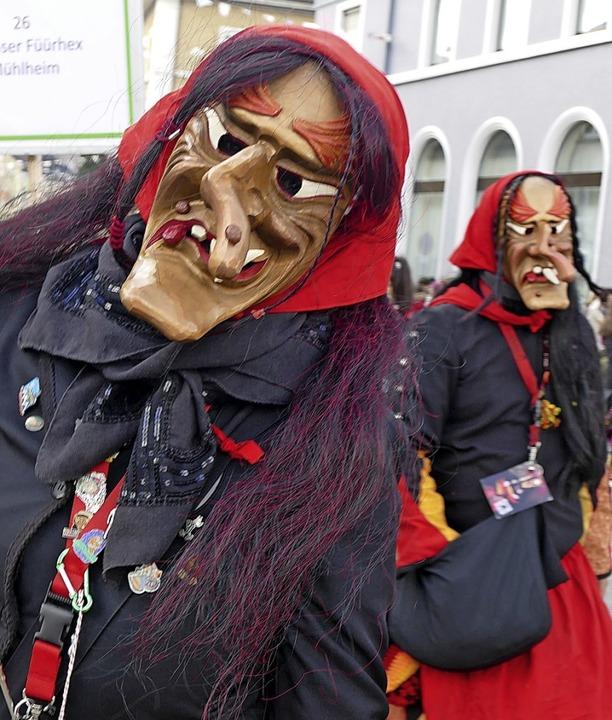 Schaurig-schöne Hexen aus Müllheim    Foto: Axel Kremp