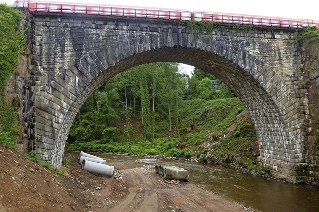 Fassungslosigkeit wegen des Brückenabrisses