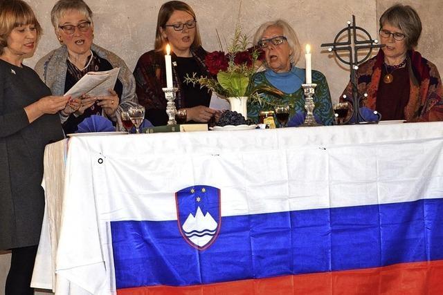 Singen und Beten für Slowenien