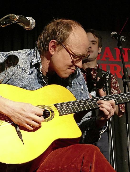 Ralf Wieland spielte das Publikum schier schwindlig.    Foto: David-Wenk
