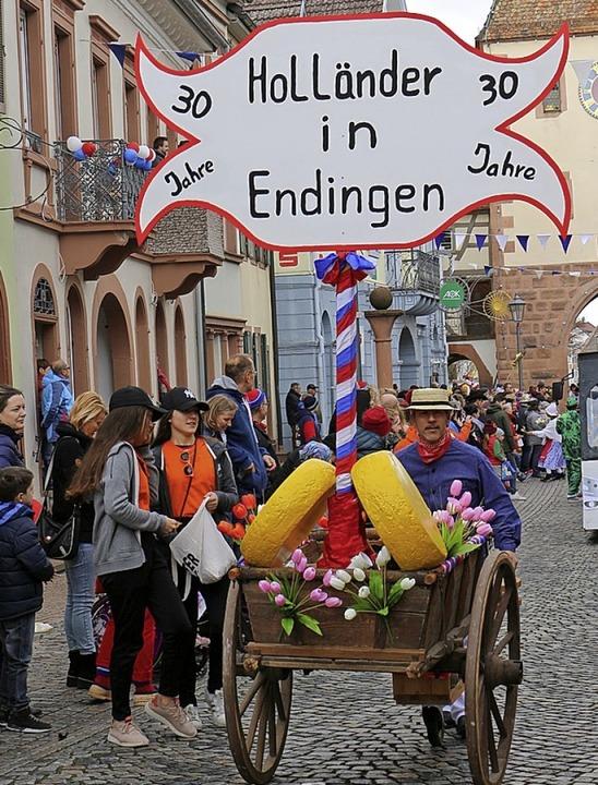 Umzug in Endingen: Einen Hauch von Hol... das Schitzenäscht an den Kaiserstuhl.  | Foto: Ruth Seitz