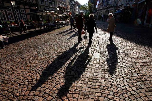 Altersdurchschnitt auf dem Land steigt