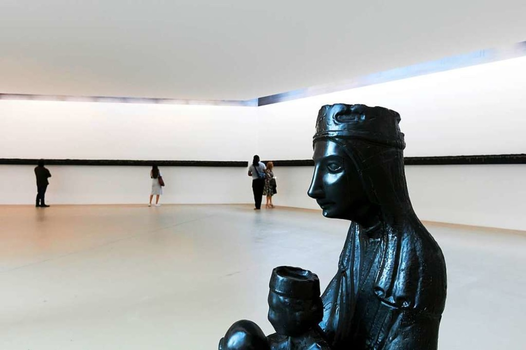 Black Madonna von Theaster Gates im Kunstmuseum Basel    Foto: www.juliansalinas.ch