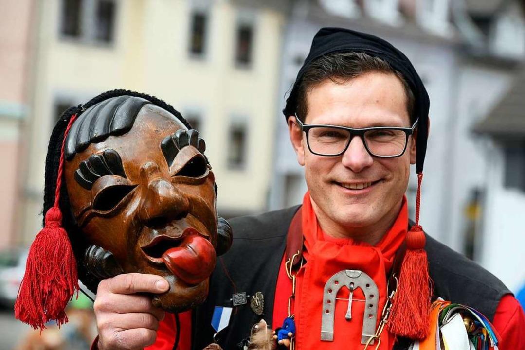 """""""Wir führen eine Herdermer Tradi...t"""", sagt Lalli Jochen Herkommer.    Foto: Thomas Kunz"""