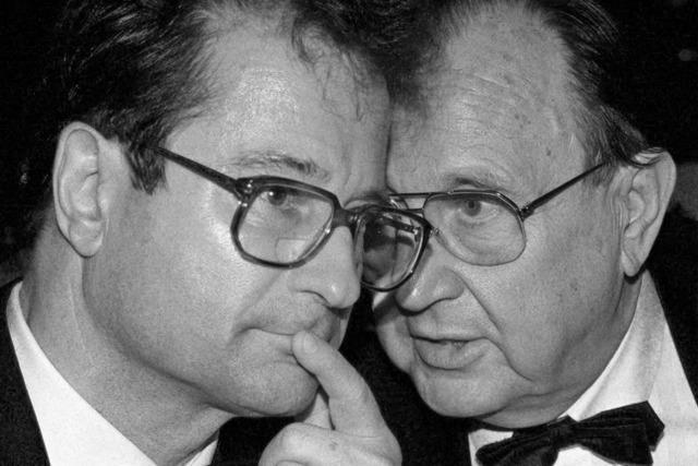 Ex-Außenminister Klaus Kinkel mit 82 Jahren gestorben