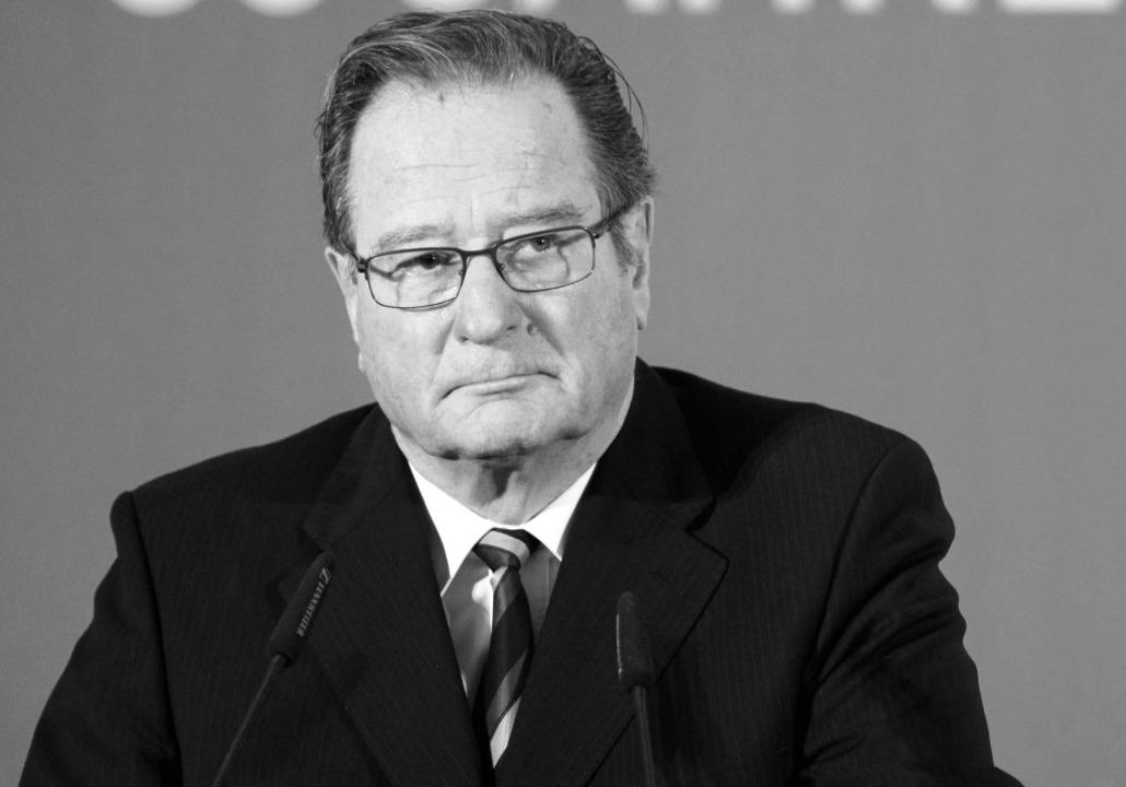 Klaus Kinkel  | Foto: dpa
