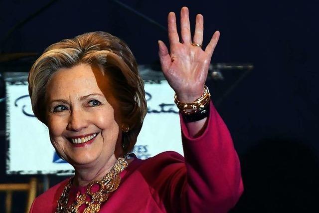 Hillary Clinton will 2020 nicht für US-Präsidentschaft kandidieren