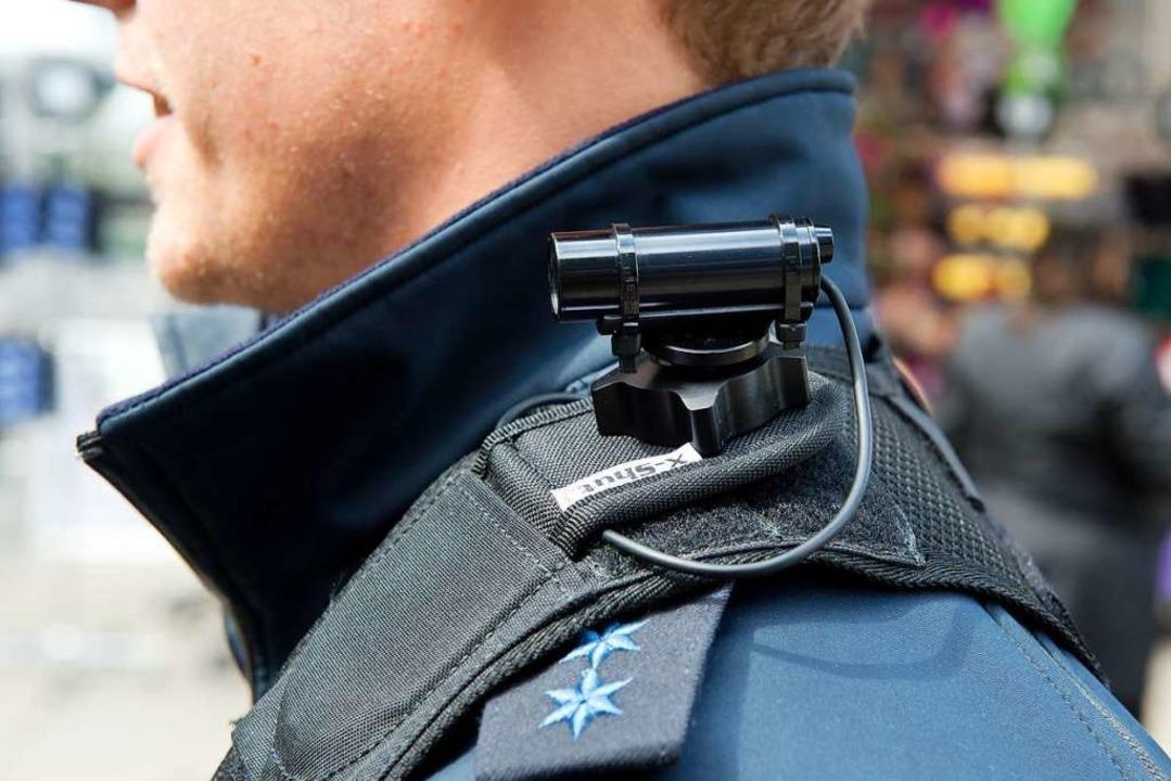Wo landen die Daten der Bodycams?  | Foto: dpa