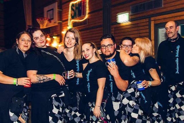 Fotos: So war die XXL-Fasnetparty in der Kirchberghalle Ehrenkirchen