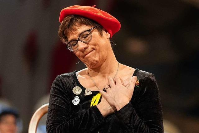 Wer Kramp-Karrenbauer kritisiert, hat Fasnacht nicht verstanden