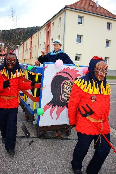 OB's Heimfahrt von Kollnau nach Waldkirch  | Foto: Karin Heiß
