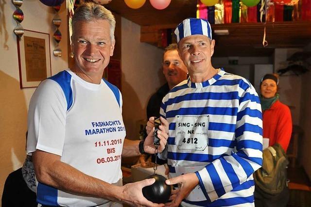 Schopfheims Ex-Bürgermeister verliert närrisches Rennen gegen Statthalter