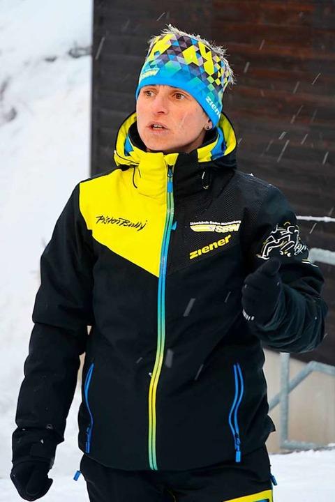 Ina Metzner, Stützpunkttrainerin am Nordic-Center Notschrei     Foto: Matthias Kaufhold