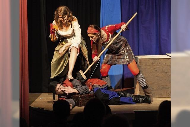 Das Theater Budenzauber nimmt Kinder mit seinem Stück