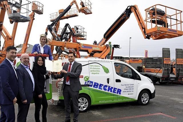 Förderung nur für Elektrofahrzeuge
