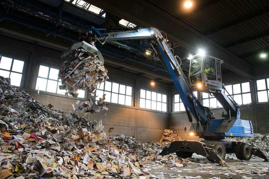 Auf den ersten Blick produzieren die F...Bio- und Grünabfälle, Papier und Glas.    Foto: dpa