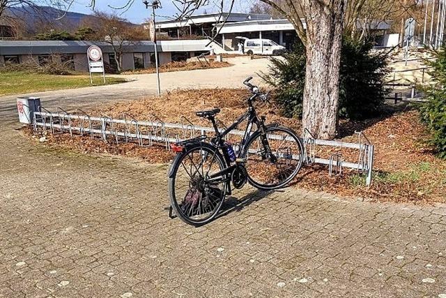 Radständer am Freibad nicht mehr zeitgemäß