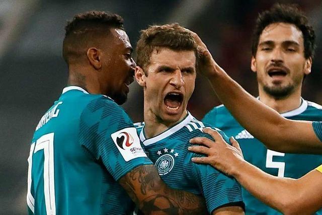 Bundestrainer Löw mustert Bayern-Trio Boateng, Hummels und Müller aus