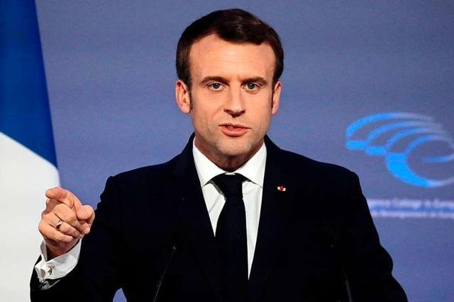 Macron will die EU erneuern – Berlin reagiert kühl