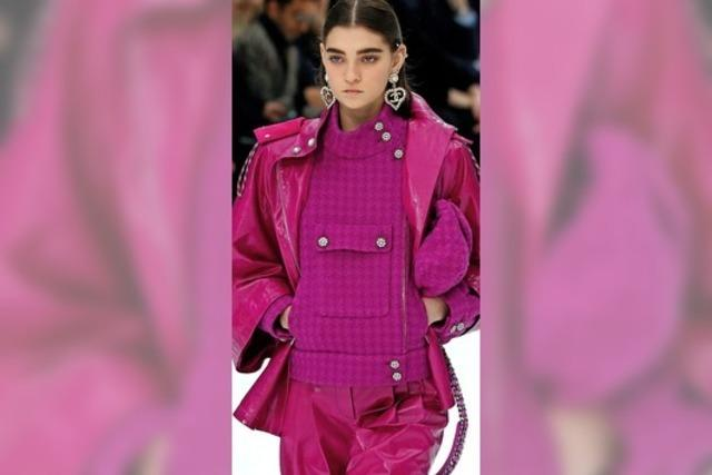 Chanel zeigt die letzte Kollektion von Karl Lagerfeld