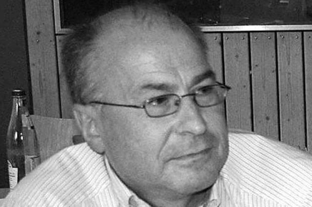 Der langjährige Eichstetter Amtschef Dieter Rinklin ist gestorben
